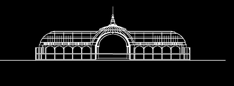 Maquette du Grand Palais