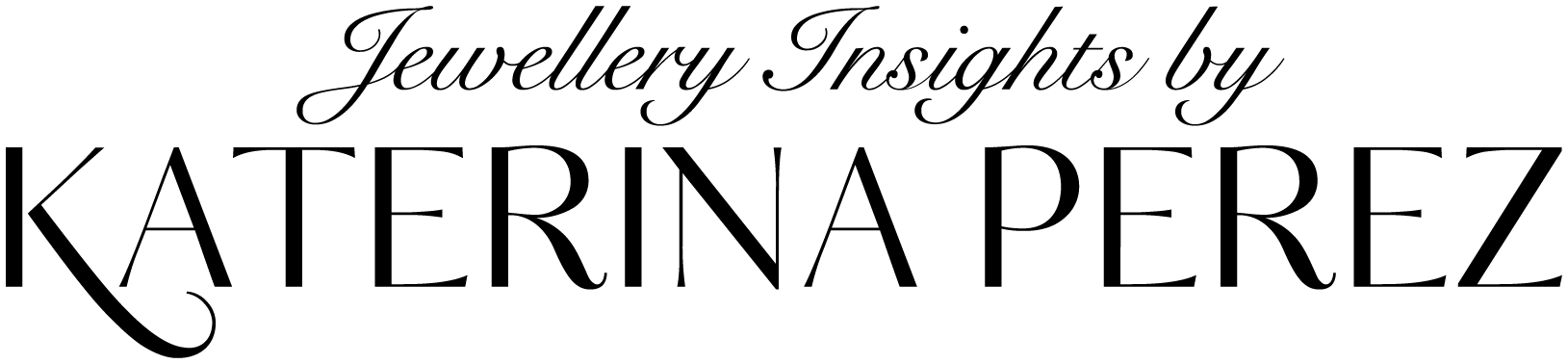 Logo Jewellery Insights by Katerina Perez