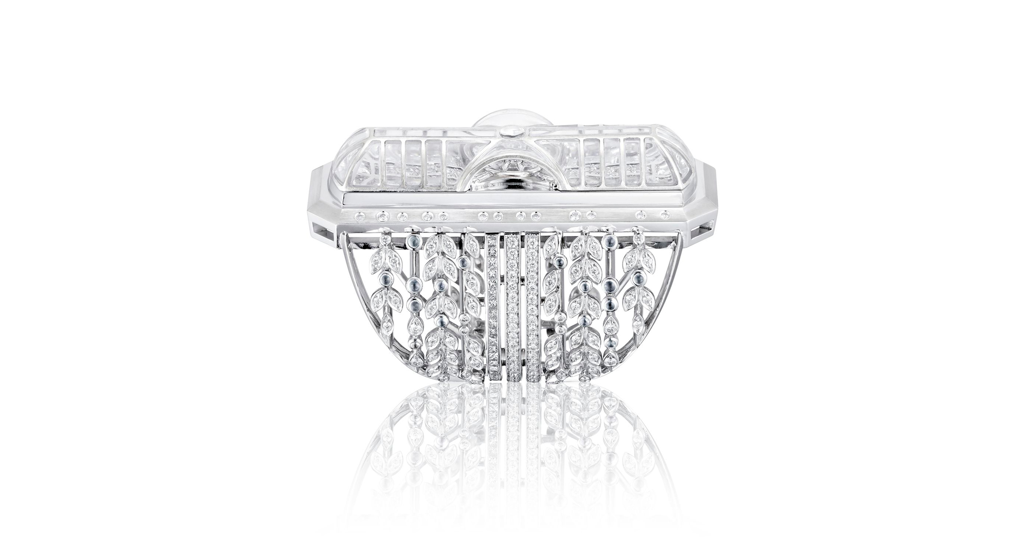 The Glass Roof Ring - Irène - Paris - le Grand Palais - High Jewellery