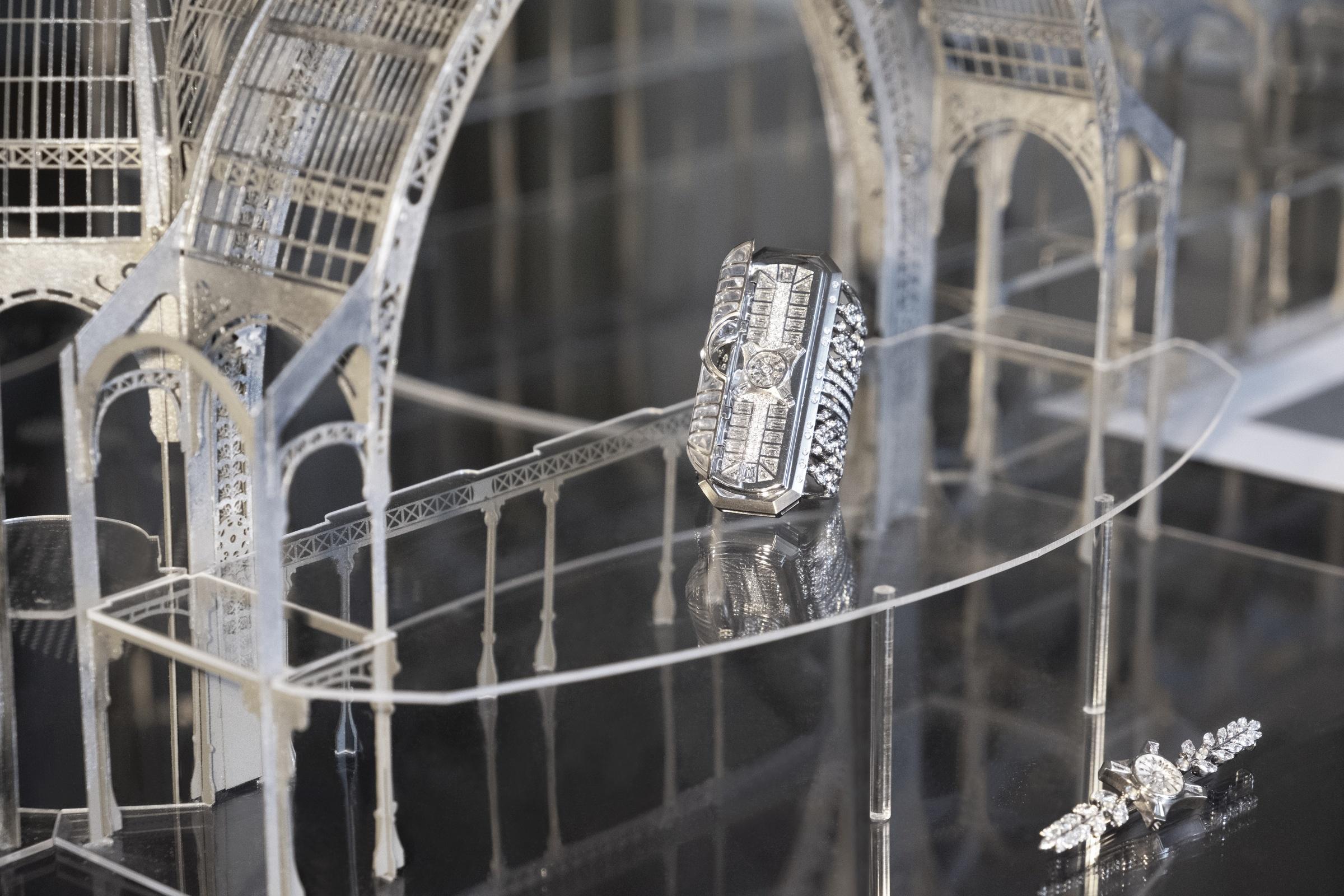 La Verrière - Mise en scène dans une maquette à échelle 1/250è - Irène - Paris Le Grand Palais - Haute Joaillerie - Architecture - Scénographie